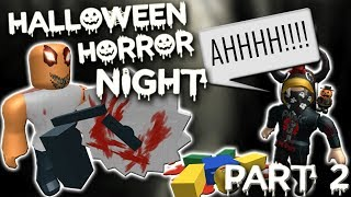 das GRUSELIGSTE Spiel IN ROBLOX (Halloween Horror Night) - Teil 2