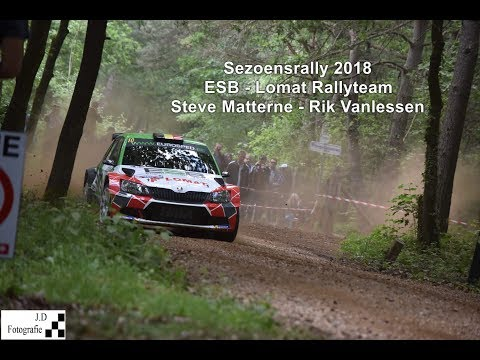 Steve Matterne | Sezoensrally 2018 | Compilation By KSrallyvideo [HD]