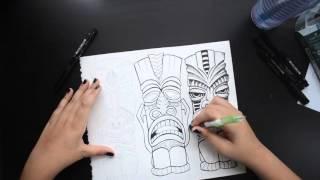 Tiki Drawing