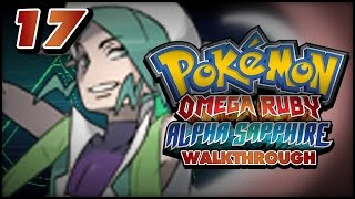 pokmon omega ruby and alpha sapphire walkthrough part 17 gym leader wallace and the shiny charm