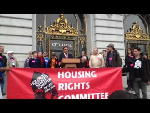 Dave Campos, SF Supervisor, Blasts AirBnB, Ron Conway