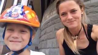 Как научить ребёнка кататься на роликах. Инструктор для детей. Мирон Волков, 6 лет.