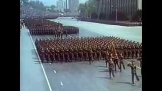 Parada militar de Corea del Norte 25.04.1992