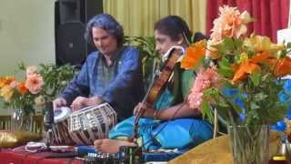 Dr M Lalitha – Top Violinist of South India,  Raga Dhenuka