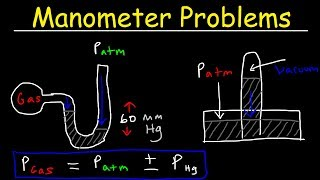 This chemistry video tutorial explains how to solve manometer pressure problems in addition explaining manometers work. it also provides an introduct...