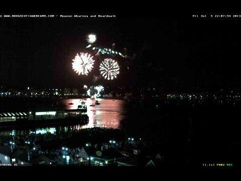 Canada Day Fireworks 2013 Halifax