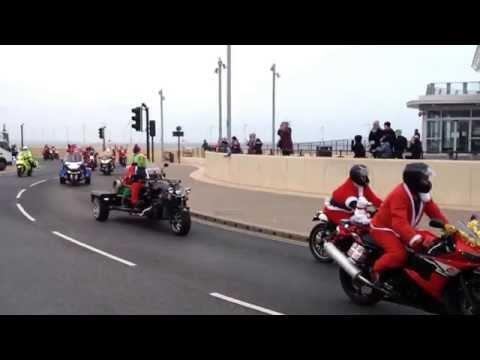 Boundary 500 Santa ride 2015 Redcar