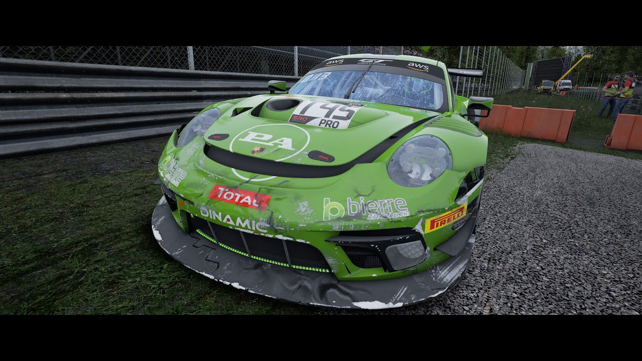 Assetto Corsa Competizione / EPIC FAILURE!!  BIG GRID Multiplayer CP Online @ Monza / Porsche 911 GT