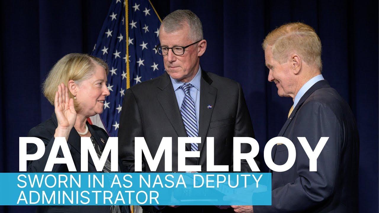 Pam Melroy Sworn in as NASA Deputy Administrator