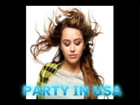 Miley Cyrus New SONG  Party in the USA  with download link