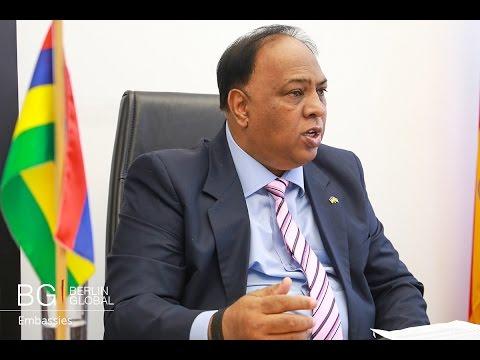 Kheswar Jankee (Ambassador of Mauritius to Germany)