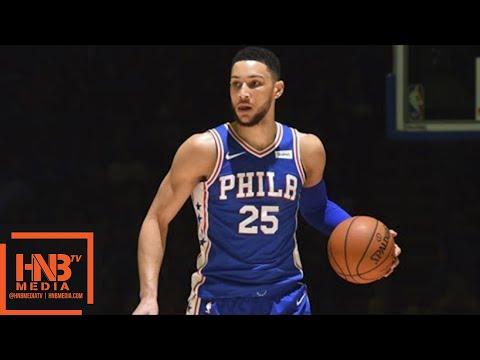 Philadelphia Sixers vs New York Knicks Full Game Highlights / March 28 / 2017-18 NBA Season