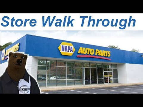 NAPA Tools Walk Through (Shop With Me)