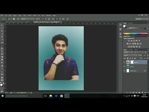 Carryminati photo portrait brush effects Photoshop tutorial 2019 thumbnail