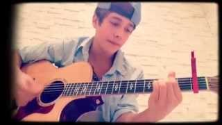 4 Years Old! - Austin Mahone singing Chris Brown 4 years old Cover