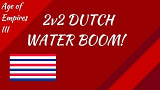 2v2 Dutch Water Boom!