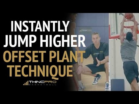 How To: Jump Higher Off Of 2 Feet (and Get Your First Dunk!) - Offset Plant Technique