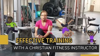 "A  Chat about Training with Ericka on ""Fit Figure 4 Life"""