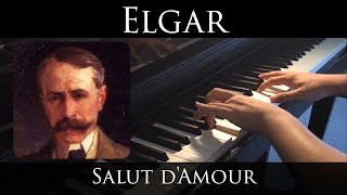 Elgar - Salut d'Amour (piano solo)