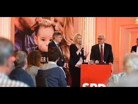 Manuela Schwesig und Frank-Walter Steinmeier in Schwerin