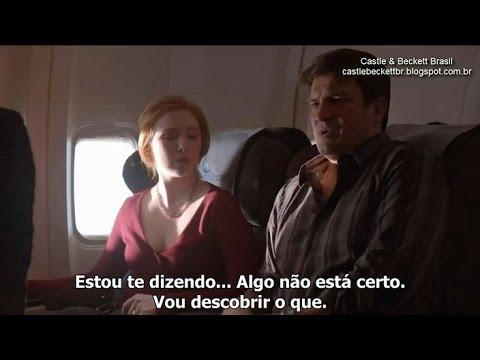 """Castle 07x21 - """"In Plane Sight"""" - Sneak Peek #1 - Legendado"""