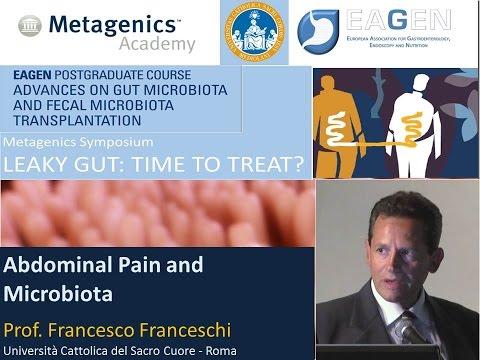 Prof. Francesco Franceschi - Abdominal Pain and Microbiota