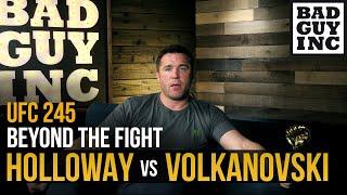 Max Holloway vs Alexander Volkanovski