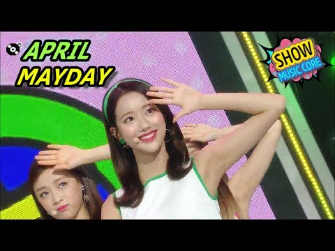 [HOT] APRIL - MAYDAY, 에이프릴 - 메이데이 Show Music core 20170610