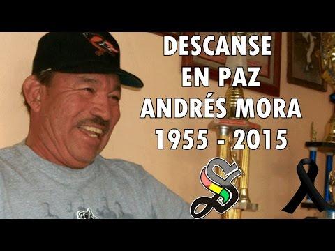 Tributo a un grande del béisbol: Andrés Mora Ibarra