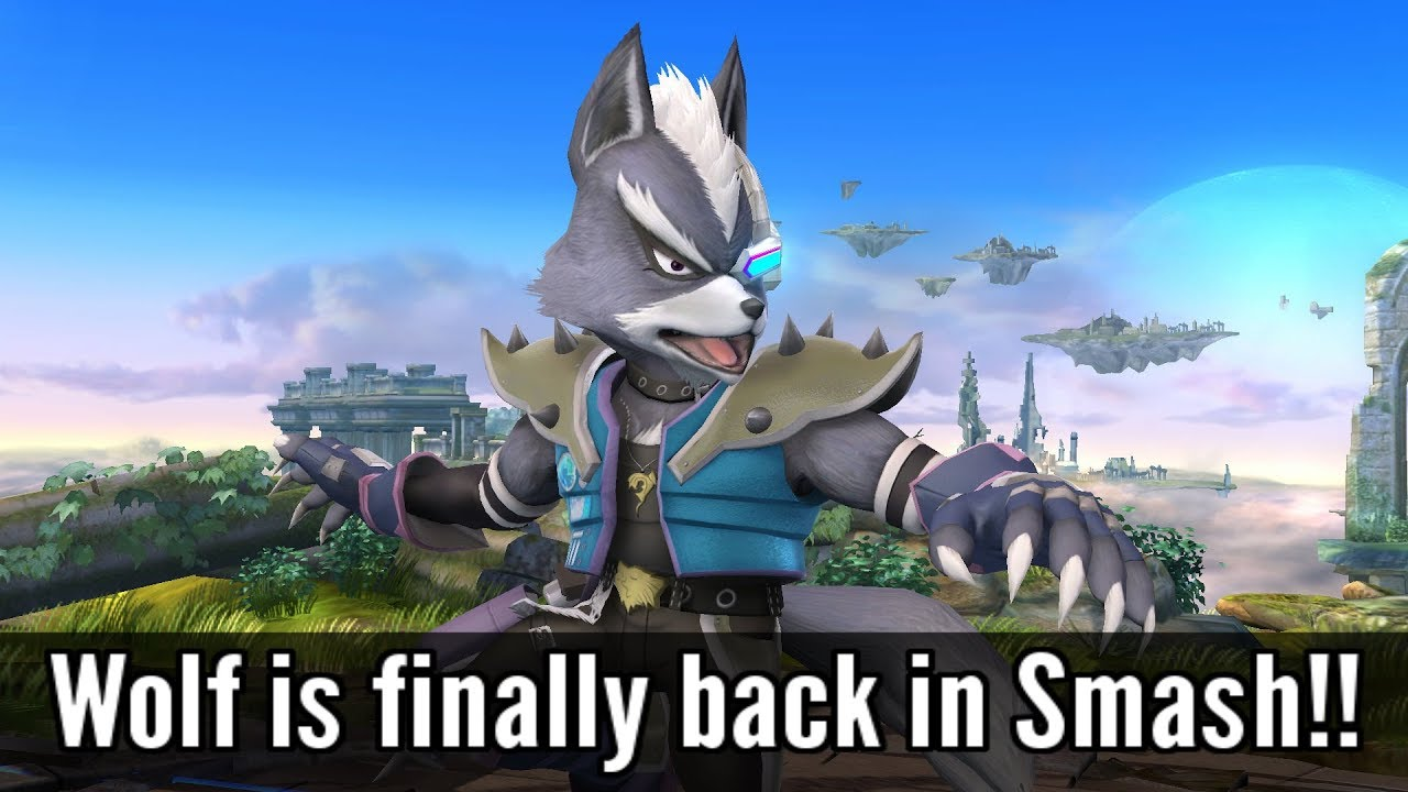 Complete Wolf Moveset, Import & Animations - Super Smash Bros. Wii U Mods