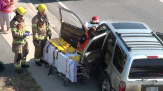 Car Crash Lougheed Hwy & Dewdney Trunk Rd Coquitlam