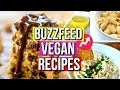 Buzzfeed Vegan Recipes TESTED | Courtney Lundquist