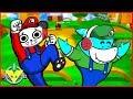 VTubers Combo Panda Vs. Big Gil as Luigi and Mario Let's Play Mario Smash Bros!
