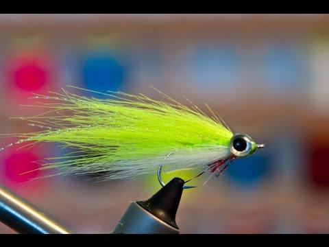 Craft Fur Reverse Tied Minnow - Underwater Footage! - Streamer Fly Tying Tutorial