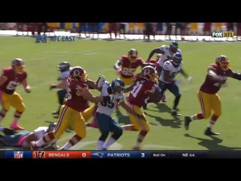 Philadelphia Eagles vs Washington Redskins  (2016 week 6)
