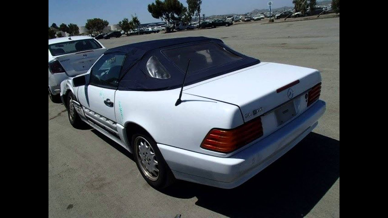 1991 mercedes 300sl 2 door convertible parts car parting out 1472 1 fix your car oem