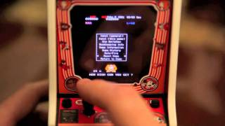 World's Smallest Playable Donkey Kong / Mame Arcade Cab Pt.1