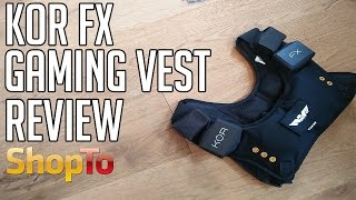 KOR FX Gaming Vest Review