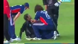 Sachithra Senanayake vs Jos Buttler-2014 and Sidebottom vs Elliot -2008