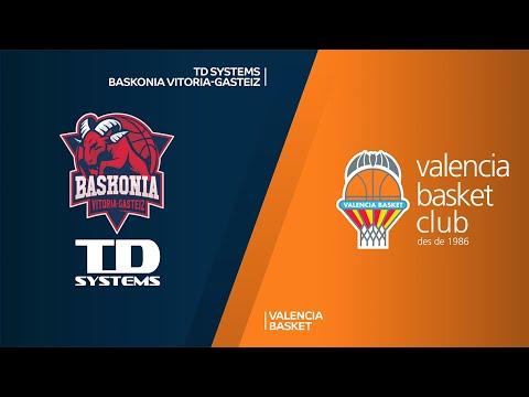TD Systems Baskonia Vitoria-Gasteiz - Valencia Basket Highlights | EuroLeague, RS Round 17
