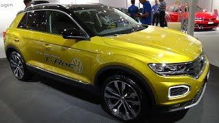 2019 Volkswagen T-Roc Advance 4Motion 2.0 TSI 190 - Exterior + Interior - Auto Zürich Car Show 2018