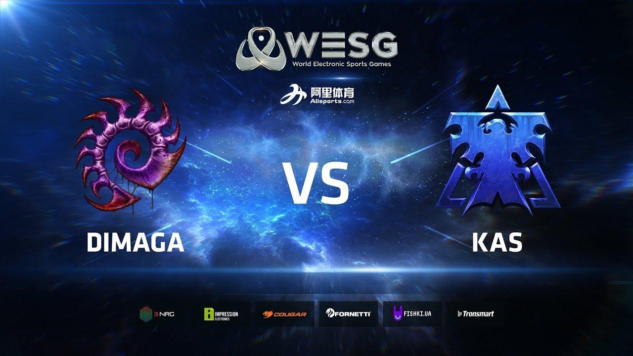 WESG Ukraine - Losers Round 3: DIMAGA (Z) vs Kas (T)