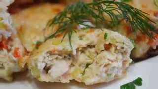 Домашние видео рецепты - куриные котлеты с картошкой в мультиварке