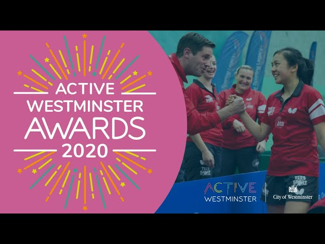 Winning an Active Westminster Award!
