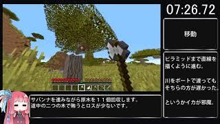 Minecraftは20分でクリアできる。Biimリスペクト
