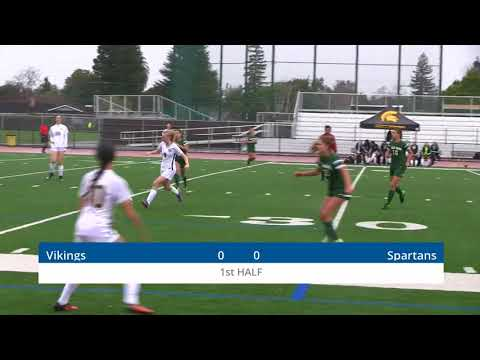 Palo Alto Vikings Vs Mountain View Spartains - Girl's Soccer January 24th, 2018