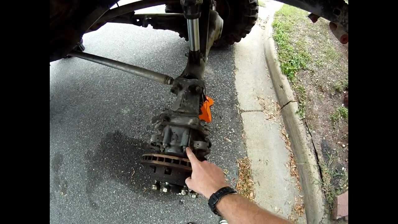 Yotamog mercedes benz unimog 404 portal axle broken youtube for Mercedes benz portal axles
