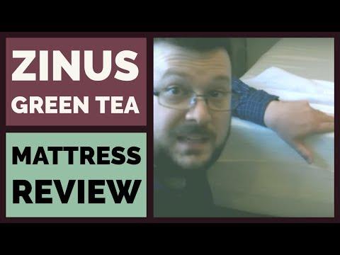 Zinus Green Tea Mattress Review & Test - 12 Inch