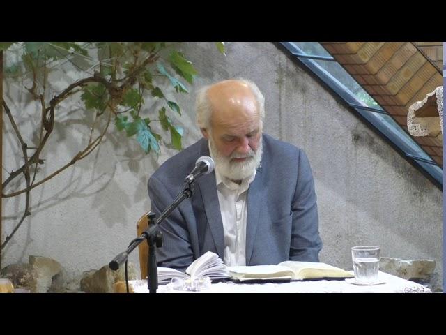 2020.09.09. Iványi Gábor - Bibliaóra - Megbékélés Háza Templom