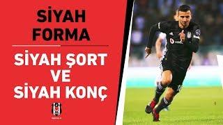 Beşiktaşımız; siyah forma, siyah şort ve siyah konç ile Antalyaspor maçına çıkacak.